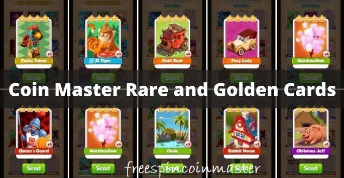 Get Golden Cards in Coin Master